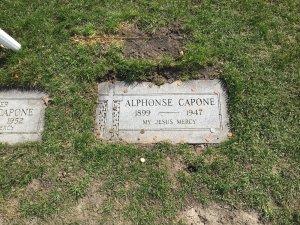 Capone's grave
