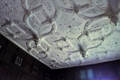 The ceiling of the Great Chamber