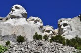 Four presidents in the sky