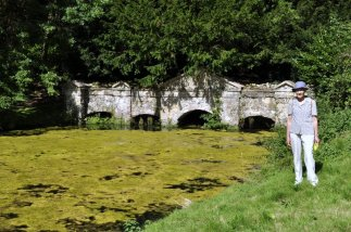 The Shell Bridge, taken from in front of the Temple of British Worthies