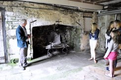 One of the most complete Tudor kitchens and fireplaces in any property in England.