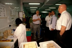 Joseph Stiglitz (second from right, wearing braces).