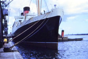 RMS Mauretania.