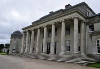The entrance portico