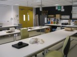 The seed sorting and cleaning laboratory.