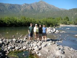 The Crew at Tumunan Lodge - Evan, Susan, Mike & Lila