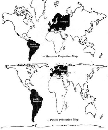 El mapa del mundo que conocemos es falso??