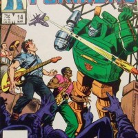 """COMIC REVIEW:  Transformers #14 w/ Bruce Springsteen / """"Brick Springstern"""""""
