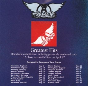 Review aerosmith s greatest hits 1973 1988 1997 for Biggest songs of 1988
