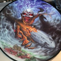 """REVIEW:  Iron Maiden - """"Empire of the Clouds"""" (2016 Record Store Day picture disc single)"""