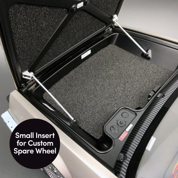 Small insert for custom spare wheel from Bonnet and Luggage Compartment Set