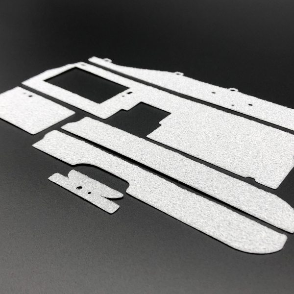 Carpet Set mod for Eaglemoss DeLorean model