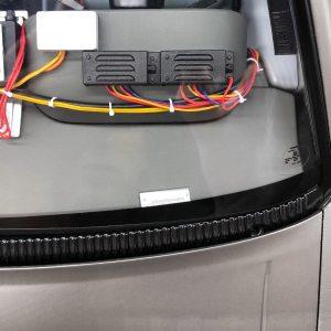 DeLorean dash VIN plate sticker
