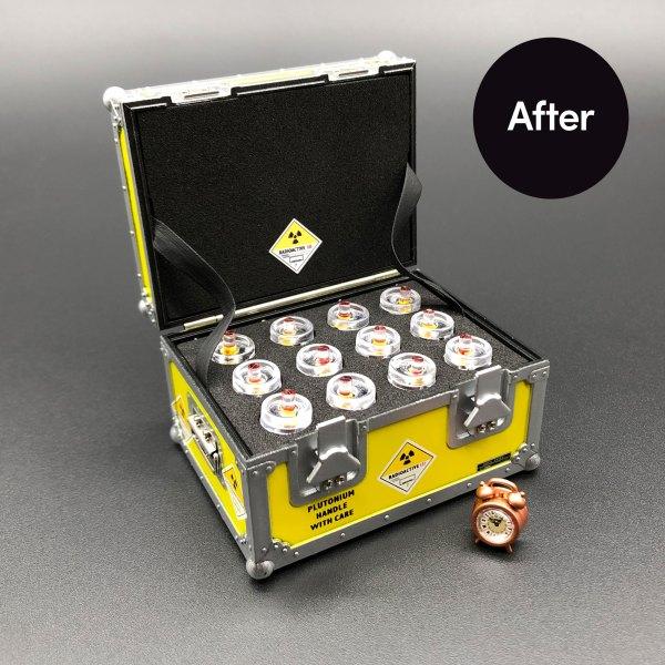 After installing Plutonium Case and Clock Face Upgrade Kit mod