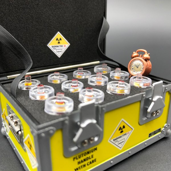 DeLorean Plutonium Case and Clock with mods from Mike Lane added