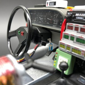 DeLorean Keys mod in model ignition