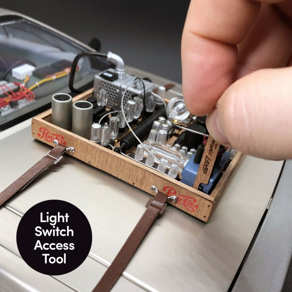 Light Switch Access Tool from DeLorean Hood Box Upgrade mod
