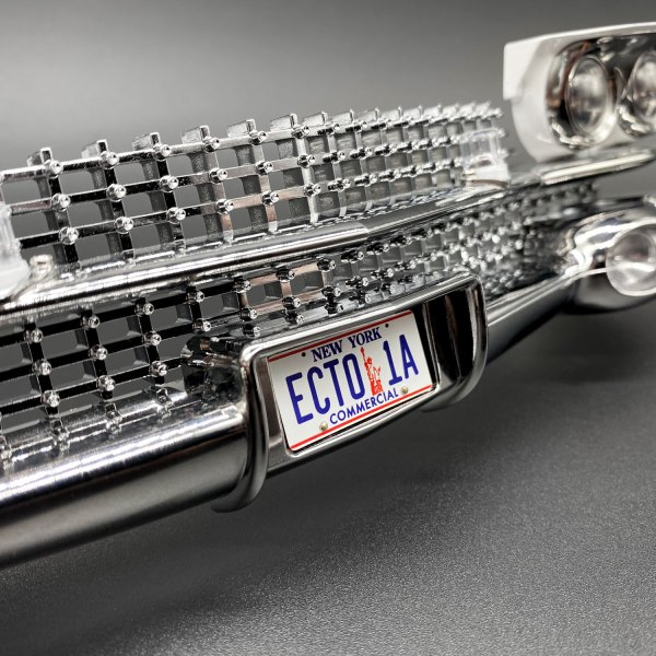 ECTO-1A front plate mod for Hero Collector Ecto-1