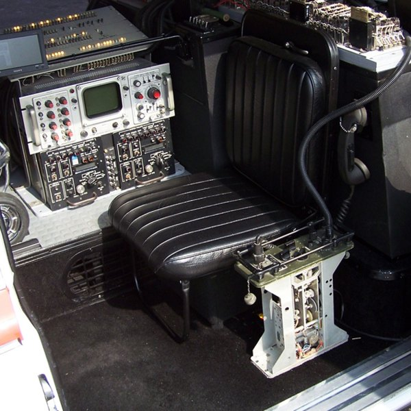 Ecto-1 jump seat from Ghostbusters movie