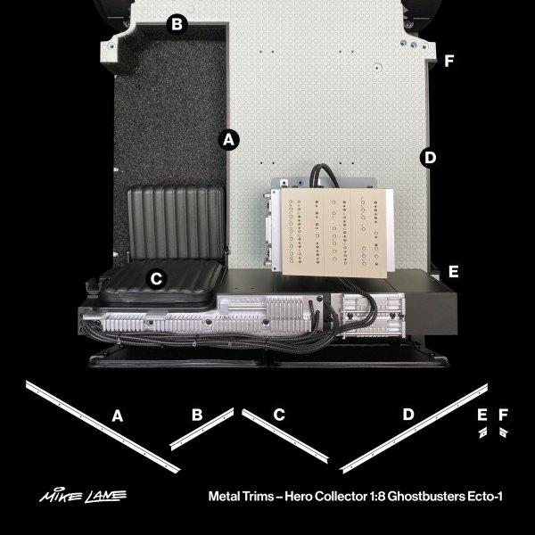 Ecto-1 Metal Trims mod position guide