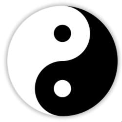 Yin and yang thus are always opposite and equal qualities.