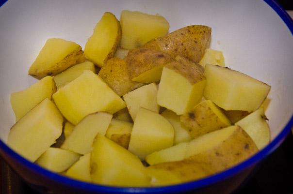 Gotowane ziemniaczki