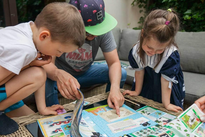 Dzieciaki vs mapa świata