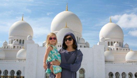 Abu Dhabi i Wielki Meczet