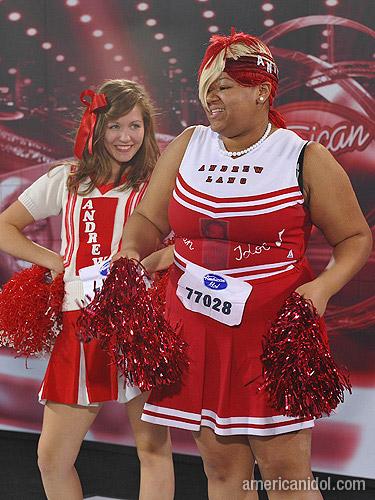 American Idol Cheerleaders