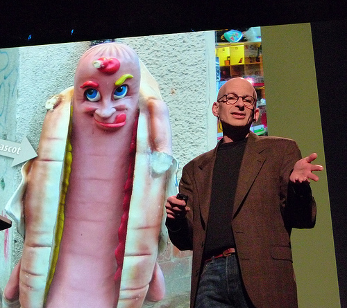 Seth Godin Presentation - photo via Flickr/Erik Charlton
