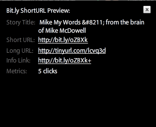 Short URL Preview on TweetDeck