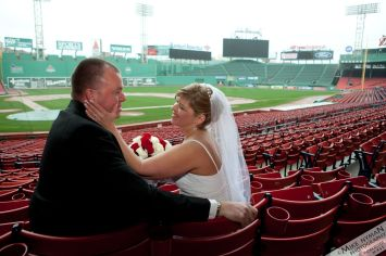 Davis-Flaherty Wedding at Fenway Park