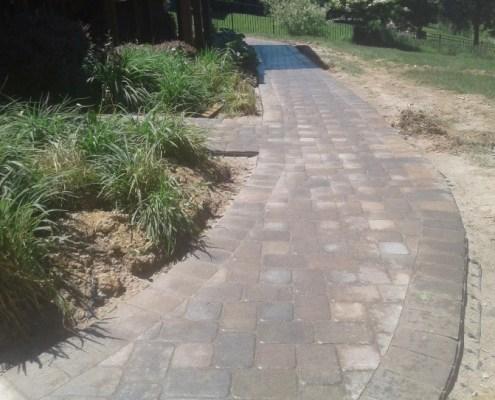 Paver Walkway