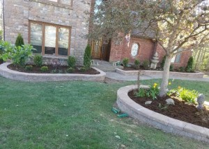 Landscaping with Retaining walls