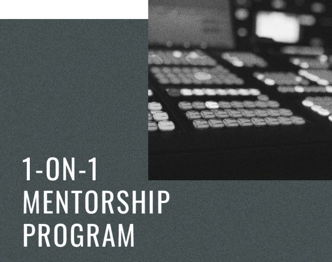 1-on-1 Mentorship Program Has Launched
