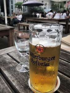 My second beer in Germany