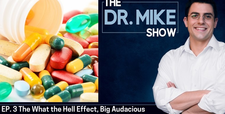 EP003 – The 'What the Hell?' Effect, Setting Big Audacious Fat Loss Goals, Nutrients that Compete for Absorption, The Best Time of Day to Take Supplements