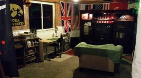 The Basement Man Room. Where beer is stored.
