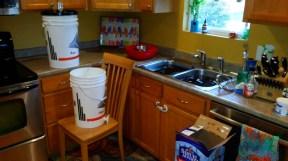 Sanitizing bottles