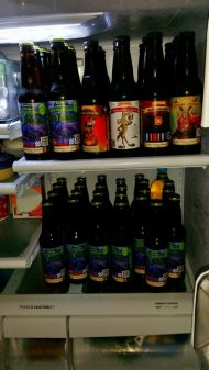 Bethusela's Lake Cabin fridge! 5 Types of Mike's Basement Beers!