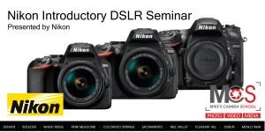 Nikon DSLR introductory seminar @ SIE Film Center
