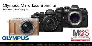 Olympus mirrorless introductory seminar @ SIE Film Center