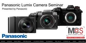Panasonic Lumix introductory seminar @ Mike's Camera, Dublin