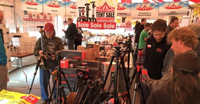 10 reasons to come to our Warehouse Clearance Tent Sale