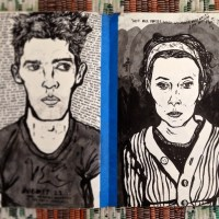 Hitchhiker, Stowaway, Drunk - The Sketchbooks That Time Forgot - Part 1