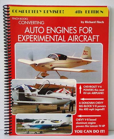 CONVERTING AUTO ENGINES FOR AIRCRAFT BY FINCH CORVAIR - Mike's Corvair Parts