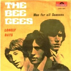 The Bee Gees - Lonely Days - Back