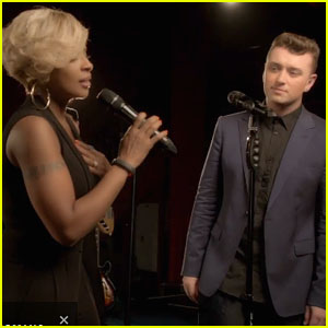 Sam Smith Mary J Blige Stay with Me