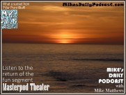 MIKEs DAILY PODCAST 1004 Pillar Point Bluff sunset