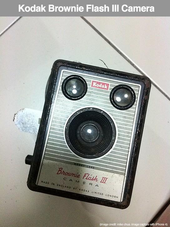 Kodak Brownie Flash III camera - front 544px